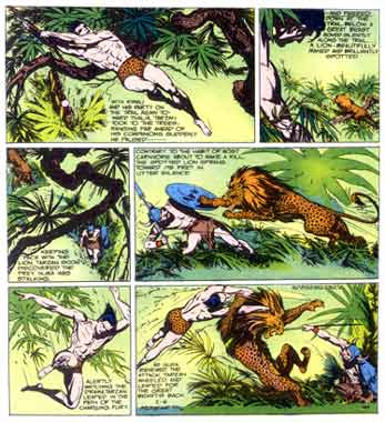 Tarzan, by Burne Hogarth