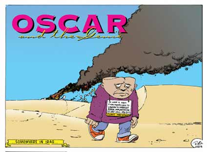 Oscar and the Genie, by Rob Hooper