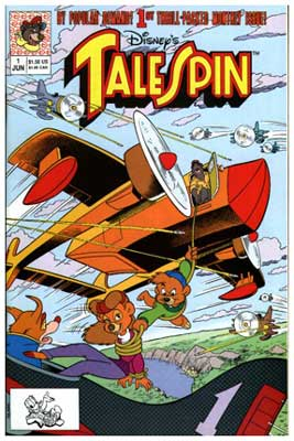 cover for Talespin, by Rick Hoover