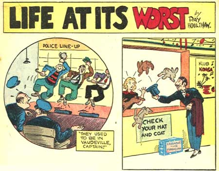 Life at its worst, by Ray Houlihan