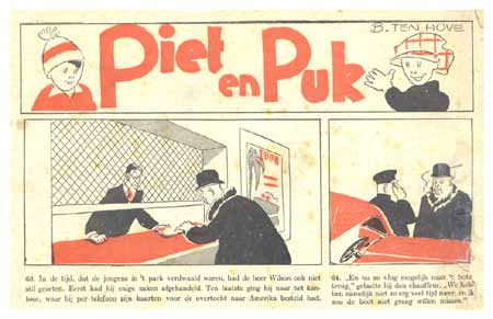 Piet en Puk, by Boy ten Hove 1937
