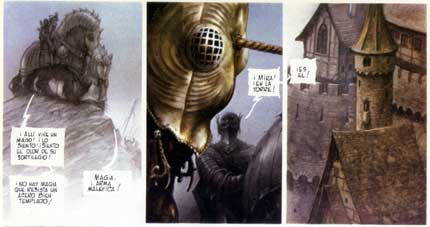 From Métal Hurlant, by John Howe