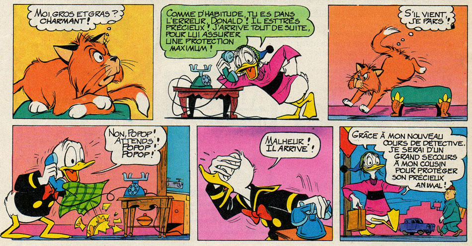 Donald Duck by Al Hubbard