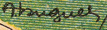 signature of A. Huguel