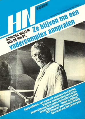 Willem van de Hulst on the cover of HN Magazine