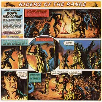Riders of the Range, by Frank Humprhis (1959)