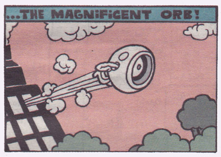The Magnificient Orb by Hurk (from The Comix Reader #1)