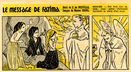 Le Message de Fatima, by Manon Iessel (Bernadette, 1952)