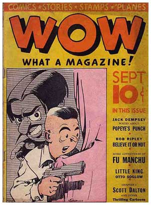 Wow cover, by Jerry Iger