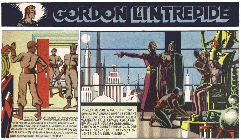 Flash Gordon, by E.P. Jacobs