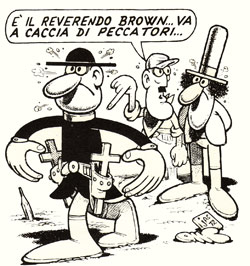 comic art by Benito Jacovitti