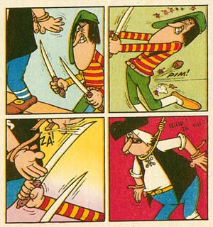 comic art by Jacovitti