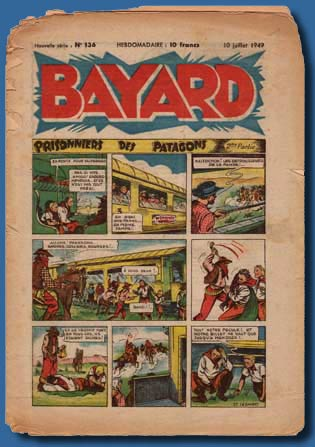 Bayard page by Gaston Jacquement, 1949