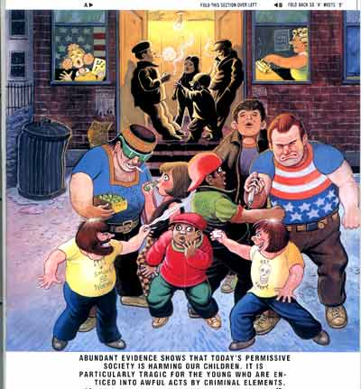 Al Jaffee fold-it cover