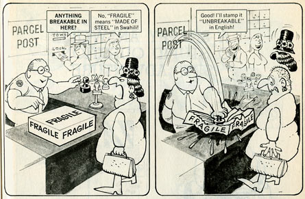 Snappy Answers To Stupid Questions, by Al Jaffee