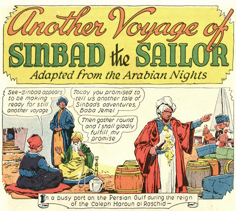 Sinbad the Sailor by Arthur Jameson