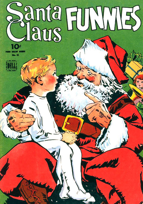 Santa Claus Funnies by Arthur Jameson