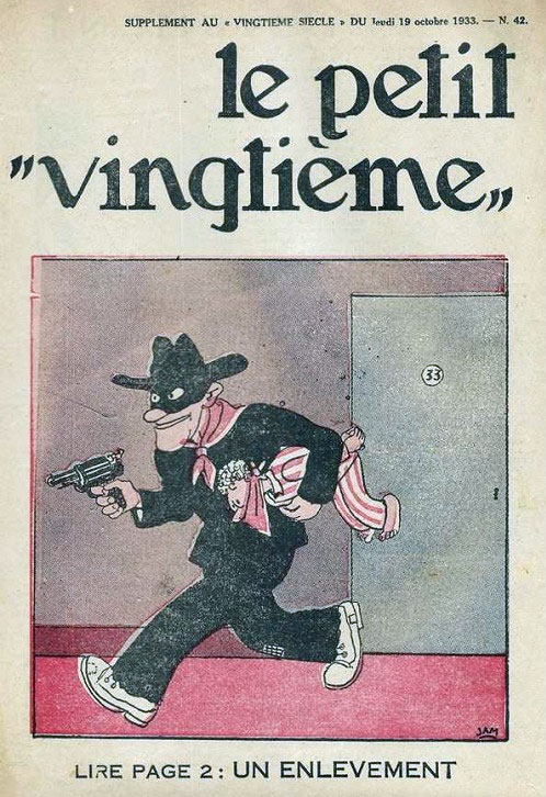 Cover for Le Petit Vingtième (19 October 1933)