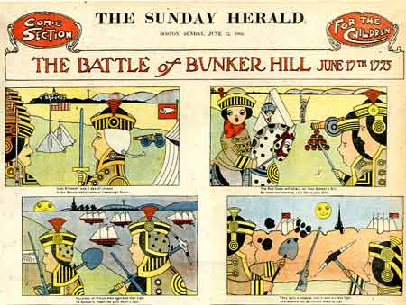 The Battle of Bunker Hill, by A.L. Jansson (1904)