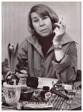 photograph of Tove Jansson