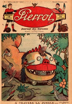 cover for Pierrot, by Marcel Jeanjean (1930)