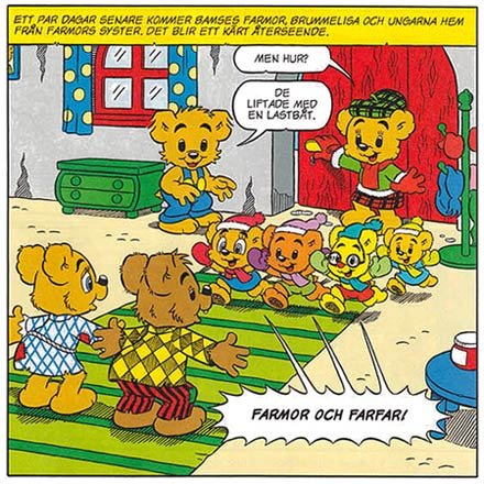 Bamse by Ted Johansson