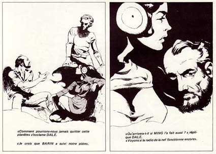 Flash Gordon, by Jeff Jones (1972)