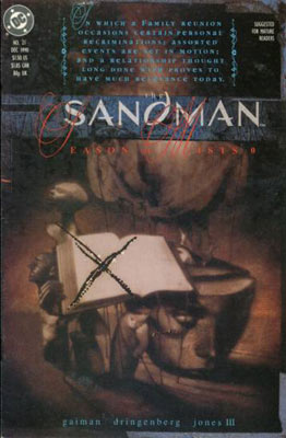 Sandman cover, by Dave McKean