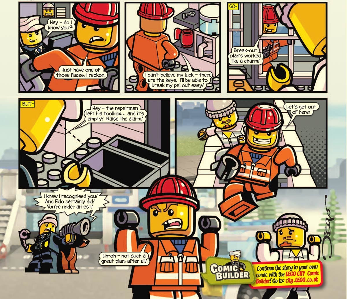 LEGO comic, by Diego Jourdan