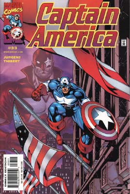 Catain America, by Dan Jurgens
