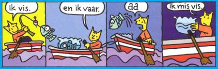 comic from Maan Roos Vis by Jan Jutte