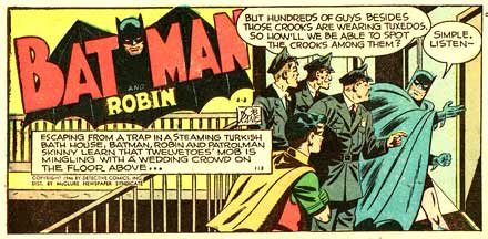 Batman, by Bob Kane (1946)