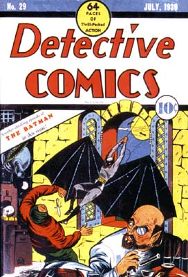 The second Cover showcasing 'The Batman', by Bob Kane