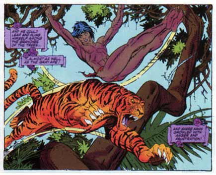 Jungle Book, by Gil Kane