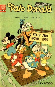 O Pato Donald cover, by Jorge Kato