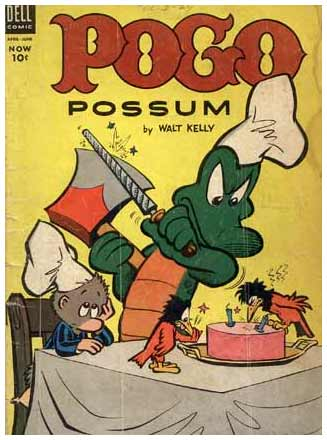 Pogo Possum comic cover, by Walt Kelly