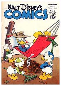 Cover for Walt Disney's Comics and Stories, by Walt Kelly