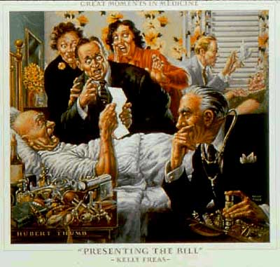 Great moments in medicine, by Frank Kelly Freas