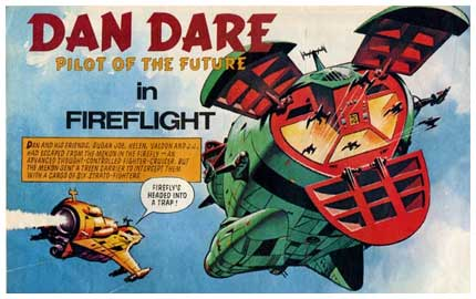 Dan Dare, by Ian Kennedy