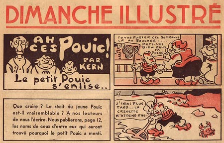 Famille Pouic by Leon Kern