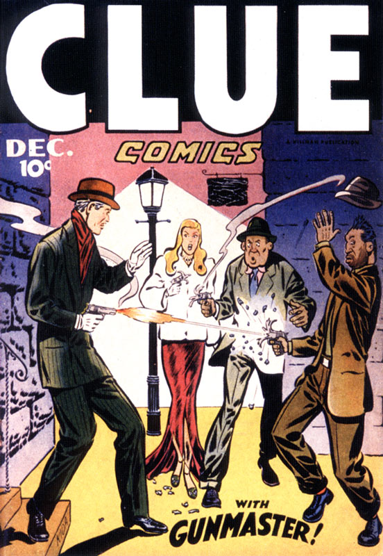 Clue Comics, by Fred Kida