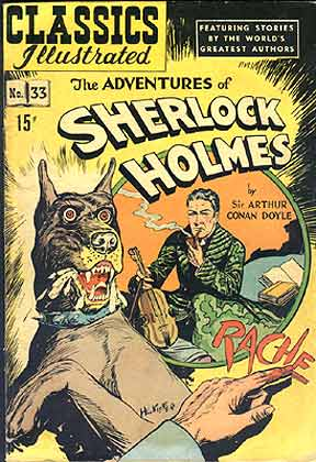 Sherlock Holmes - Hound of the Baskervilles, by Henry Carl Kiefer