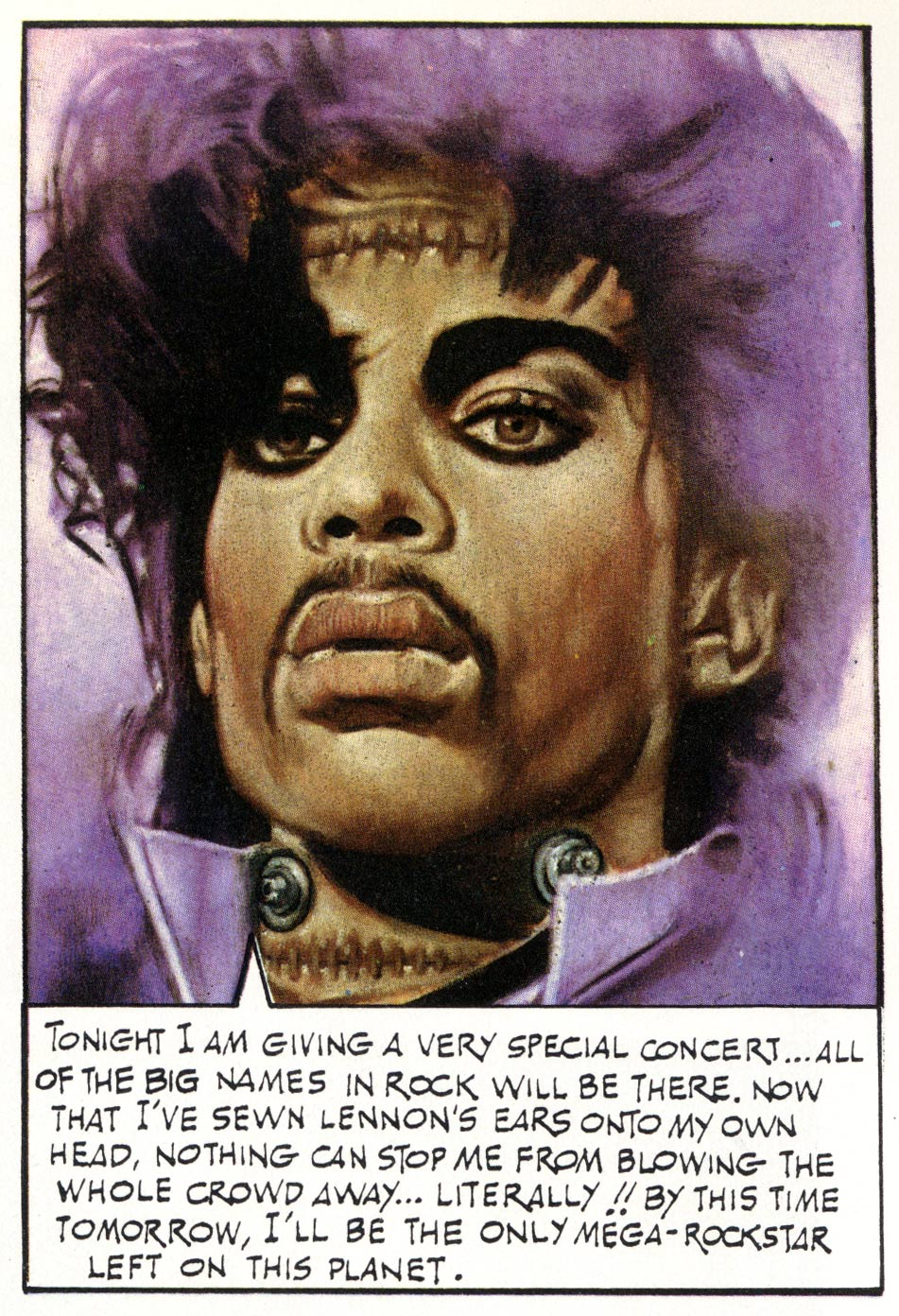 Prince, in Shooting stars, by Rod Kierkegaard Jr.