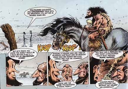 Epicurus the Sage, by Sam Kieth (1989)