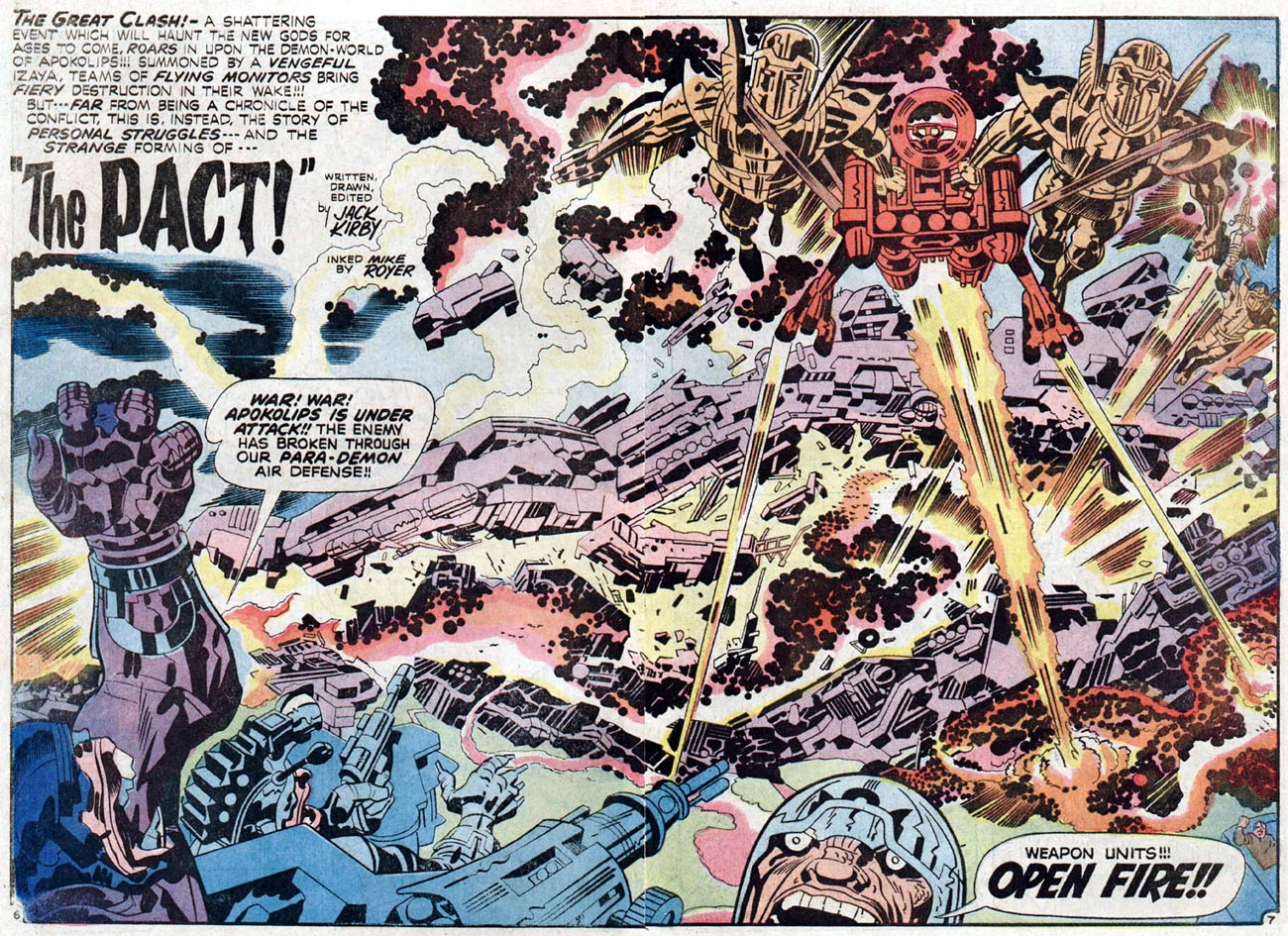 The New Gods by Jack Kirby