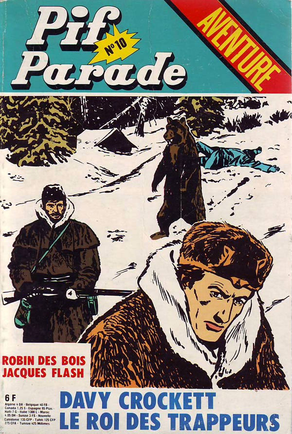 Cover for Pif Parade, by Kline
