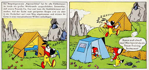 Fix und Foxi, by Oktemer Koksal, courtesy of the Deutscher Comic Guide