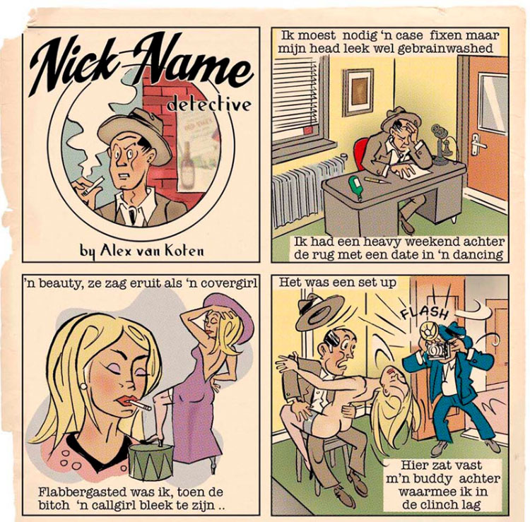Nick Name by Alex van Koten