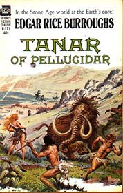 Tanar of Pellucidar, cover by Roy Krenkel
