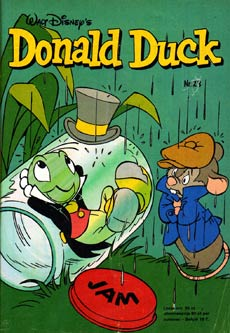 Donald Duck cover by Robert van der Kroft
